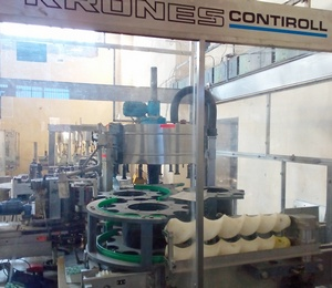 Labeling machine Krones Contiroll