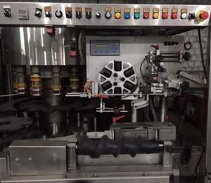 Automatic crimping cap Technovin